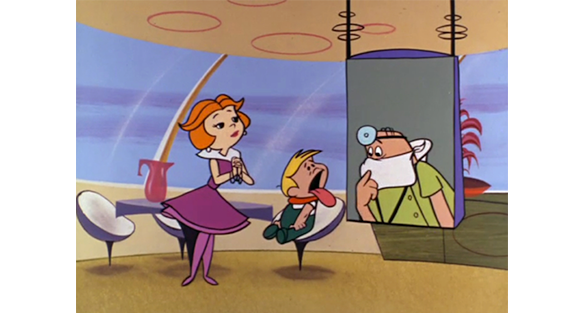 Scene from The Jetsons  Copyright Hanna-Barbera